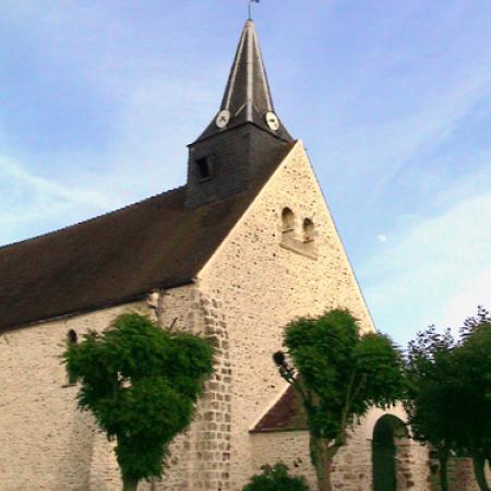 Eglise ponthevrard facade 1