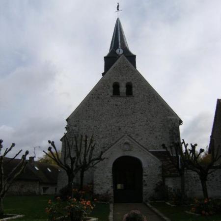 Eglise ponthevrard facade1