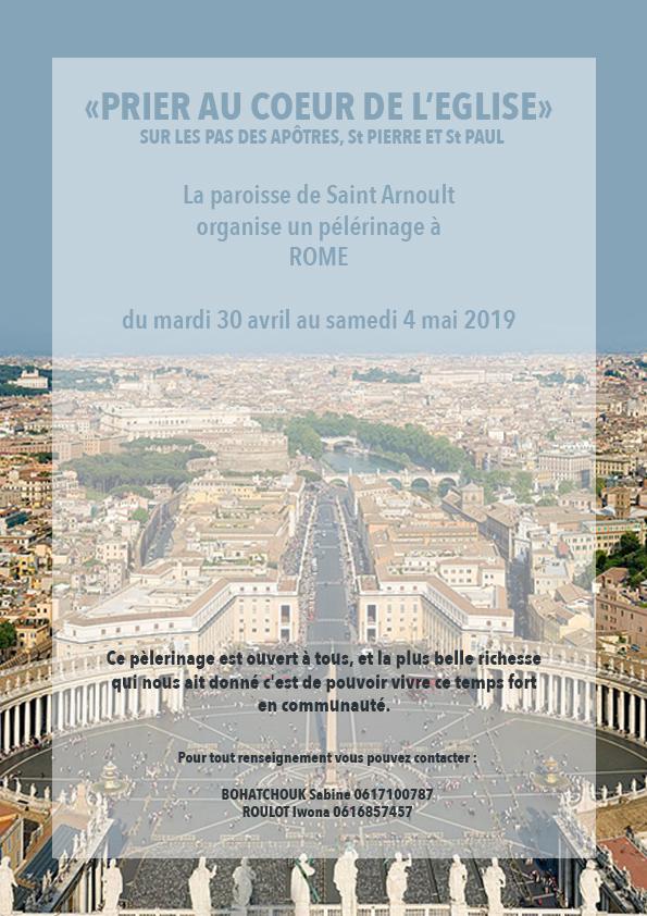 Affiche rome 2019